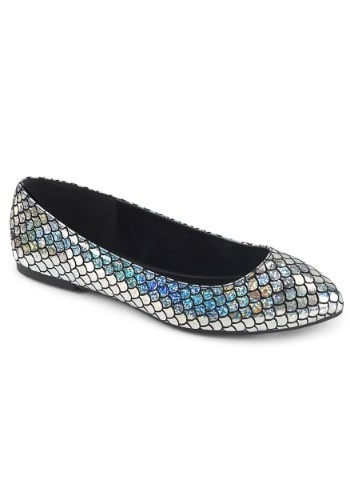 Women's Silver Mermaid Shoes