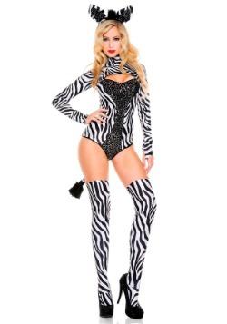Women's Sexy Zebra Costume