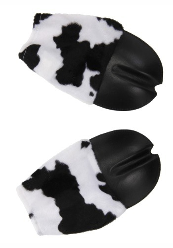 Cow Front Hooves Costume Gloves