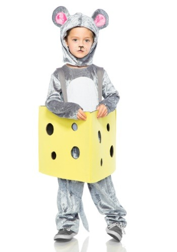 Child Mouse in Cheese Costume