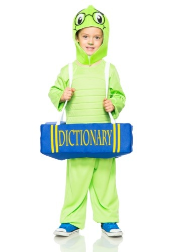Toddler Book Worm Costume