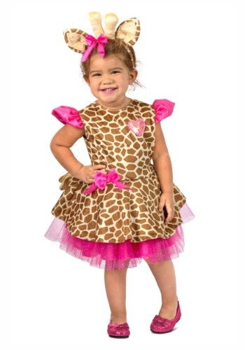 Toddler Gigi Giraffe Costume