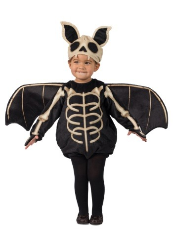 Toddler Skeleton Bat Costume