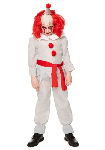Child Horror Clown Costume