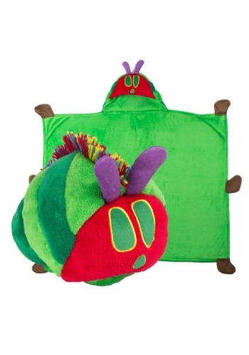 Eric Carle the Very Hungry Caterpillar Comfy Critter Blanket