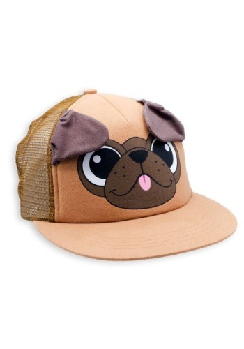 Pickle the Pug Critter Cap
