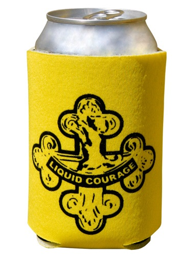 Liquid Courage Can Koozie