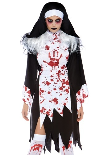 Women's Deadly Nun Costume