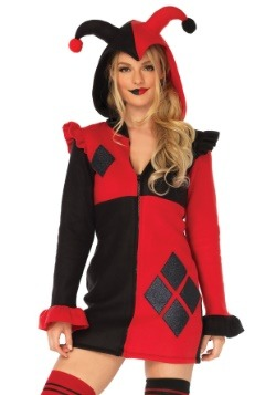 Women's Cozy Harlequin Costume