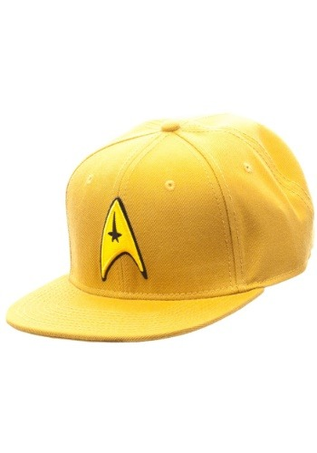 Star Trek Gold Snapback Hat