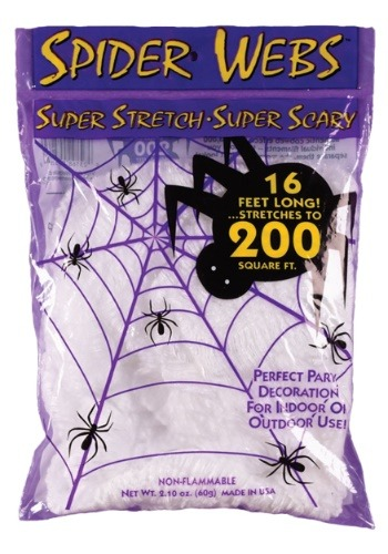 200 Square Feet Spider Web