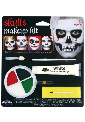 Child Skull Makeup Kit