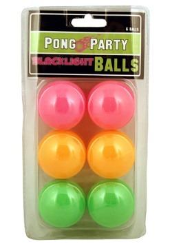 Blacklight Pong Balls
