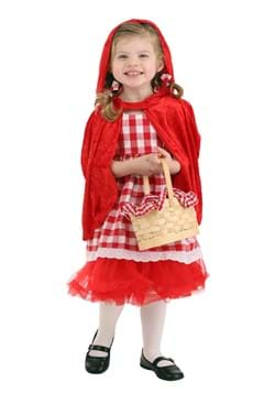 Toddler Red Riding Hood Tutu Costume