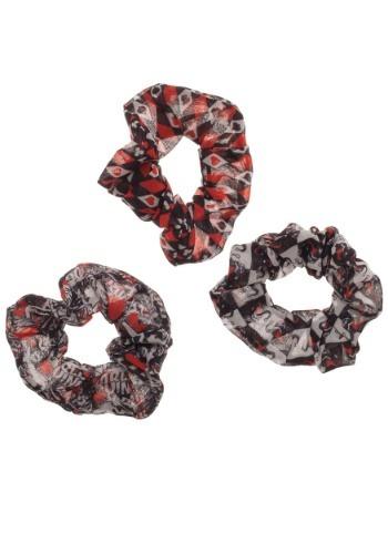 Harley Quinn 3-Pack Scrunchies
