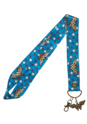 DC Wonder Woman Wide Lanyard