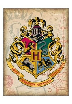 Hogwarts Crest Tin Sign