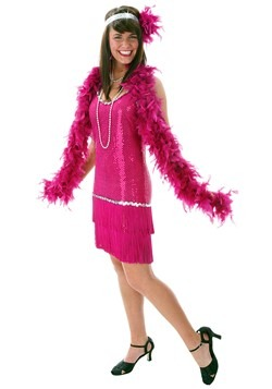 Fuchsia Flapper Dress Costume Update Main