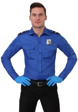 Adult Plus Size TSA Costume Shirt
