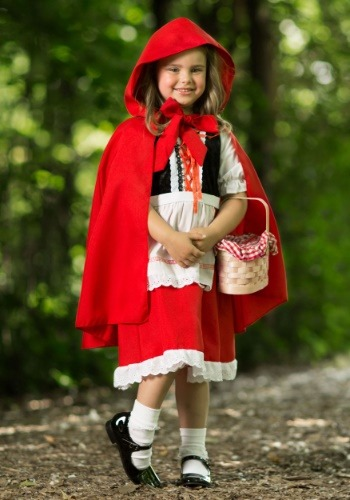 Deluxe Child Little Red Riding Hood Costume