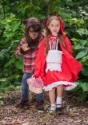 Deluxe Child Little Red Riding Hood Costume 6
