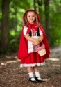 Deluxe Child Little Red Riding Hood Costume 1