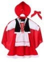 Deluxe Child Little Red Riding Hood Costume3