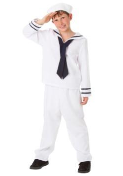 Child White Sailor Costume