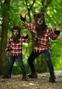 Scary Fierce Werewolf Boys Costume Alt 11