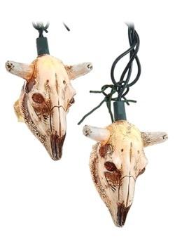 Cow Skull 10 Piece String Light Set