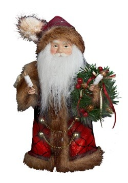 10 Inch Santa Tree Topper Main