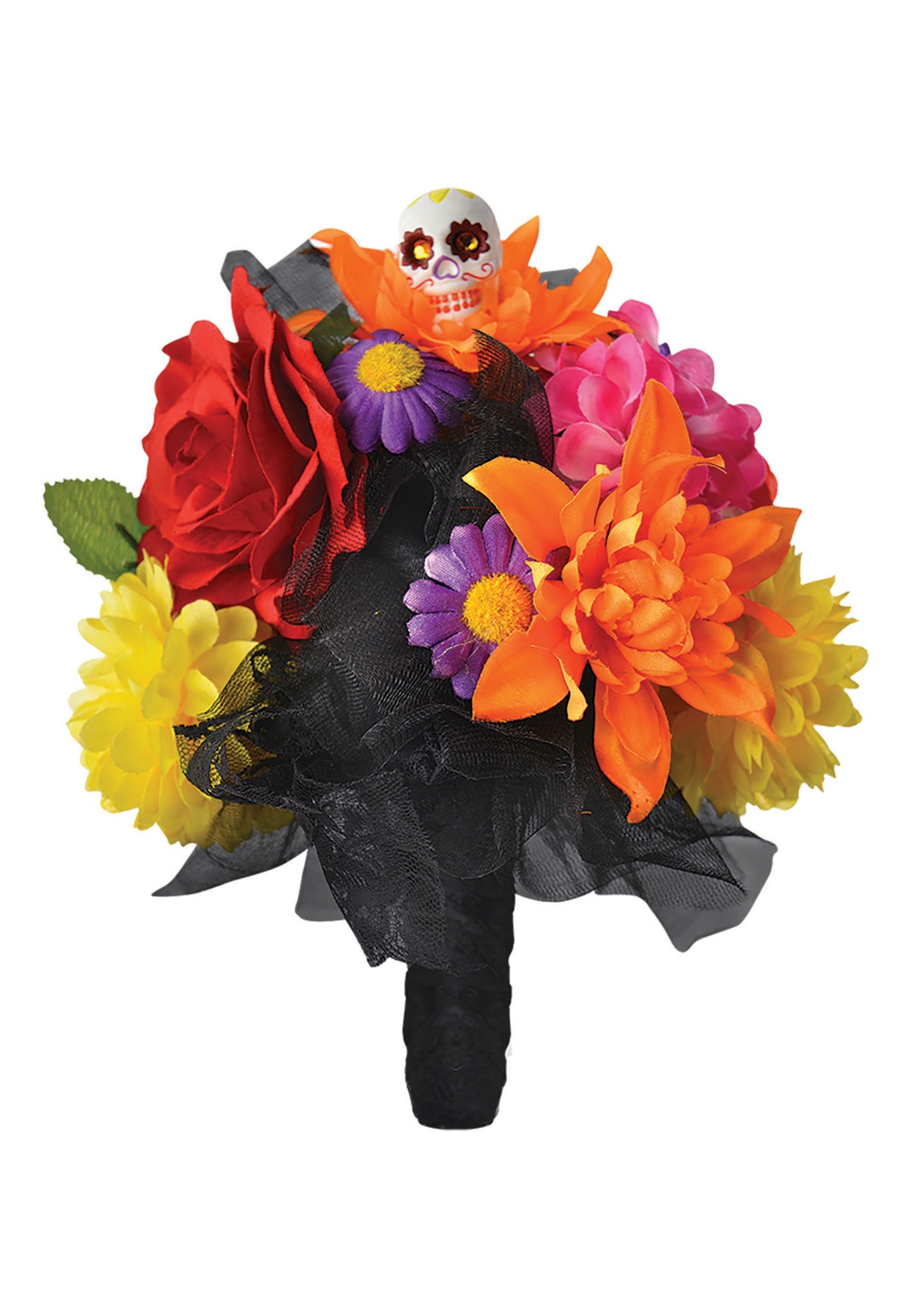 Day_of_the_Dead_Skull_and_Flowers_Bouquet