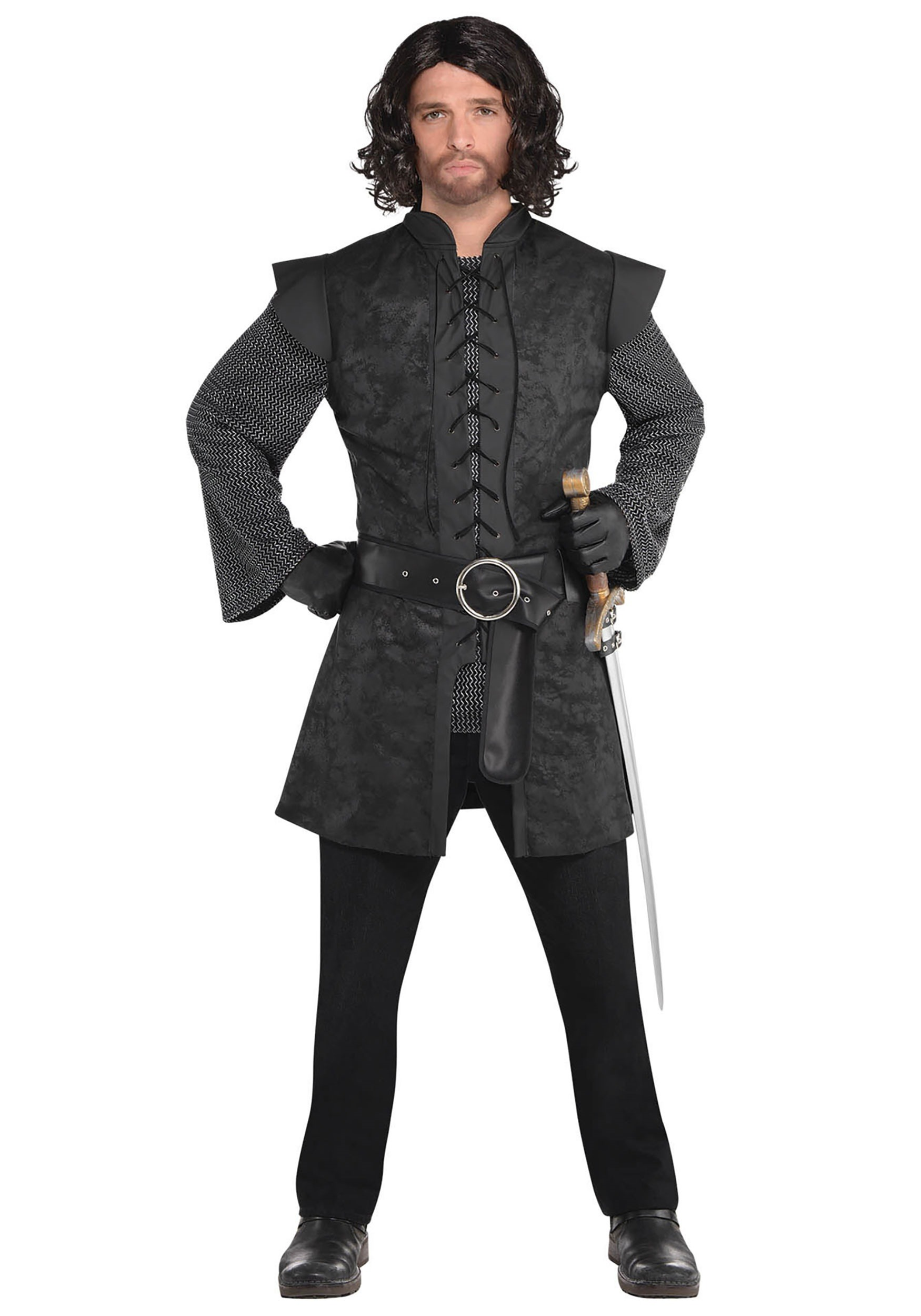 Warrior_Black_Tunic_Mens_Costume
