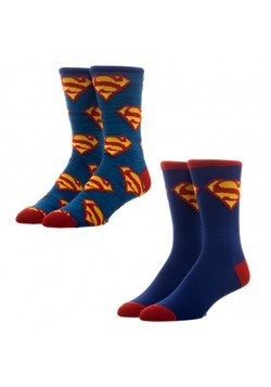 Superman -2 Pack Crew Socks