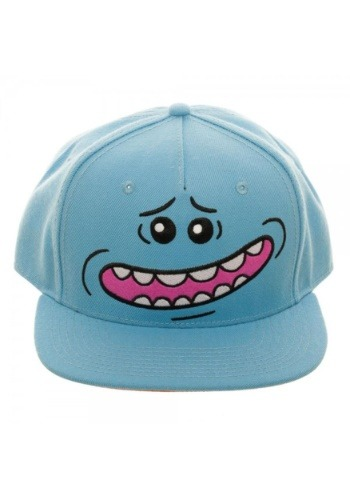 Rick and Morty Mr. Meeseeks Big Face Snapback Hat