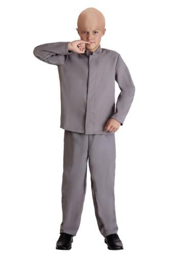 Kids Mini Grey Suit Costume