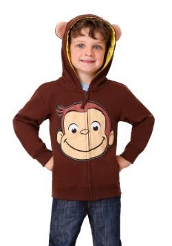Boys Curious George Hoodie