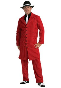 Red Gangster Zoot Suit