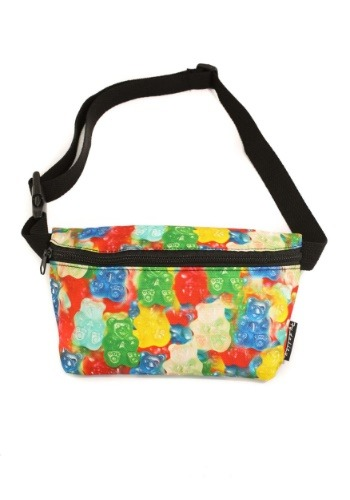 Gummy Bears Print Bum Bag From Fydelity