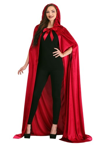Adult Crimson Riding Cloak