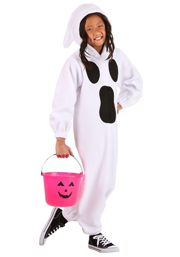 Ghastly Ghost Costume Kids