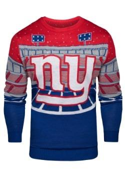 New York Giants Light Up Bluetooth Ugly Christmas Sweater