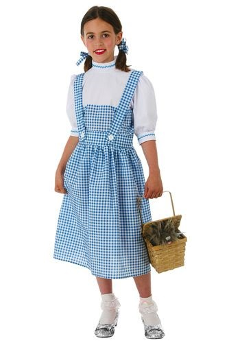 Child Dorothy Dress Costume