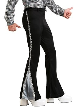 Mens Silver Sequin Disco Pants