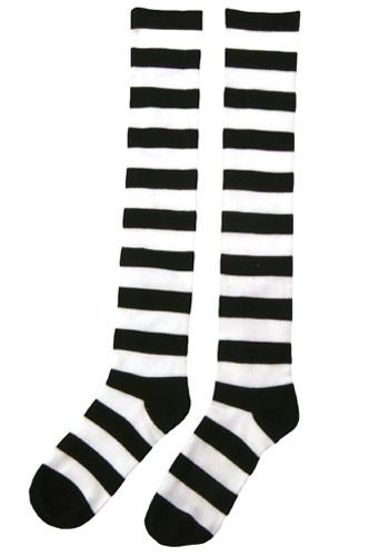 Striped Witch Socks