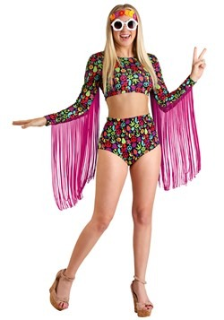 Free Spirit Hippie Women's Costume