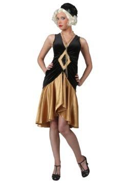 Roaring 20's Plus Size Flapper Costume