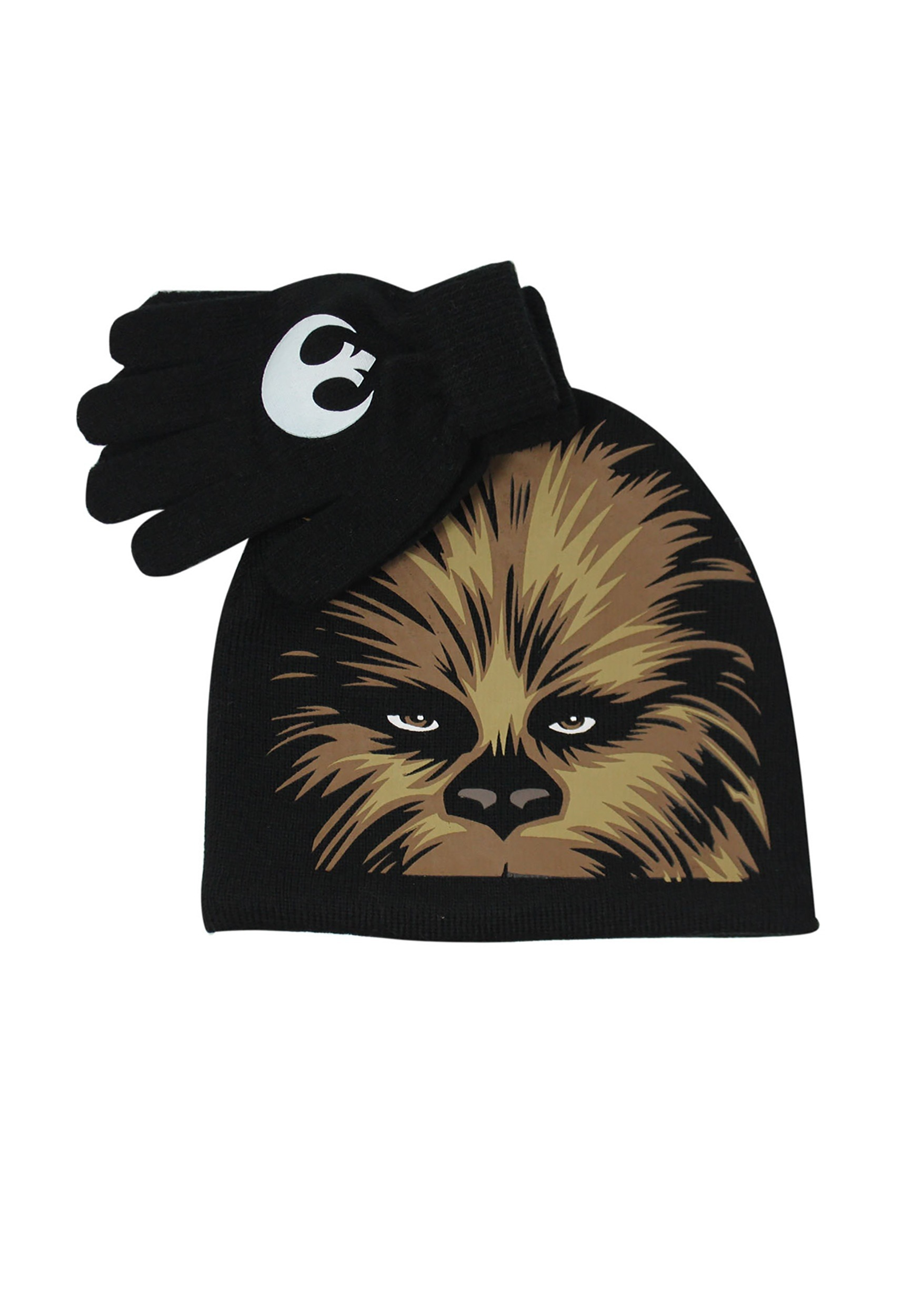 INOpets.com Anything for Pets Parents & Their Pets Kids Chewbacca Big Face Hat & Glove Set