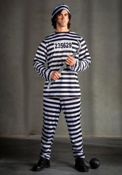 Plus Size Men's Prisoner Costume
