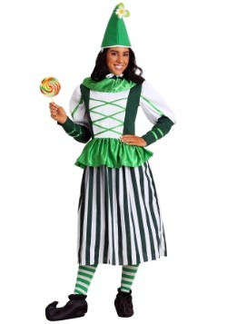 Plus Size Deluxe Munchkin Woman Costume